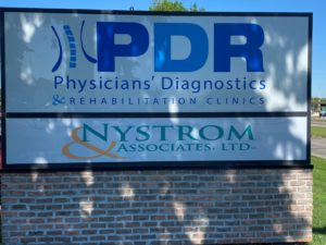PDR Maplewood sign